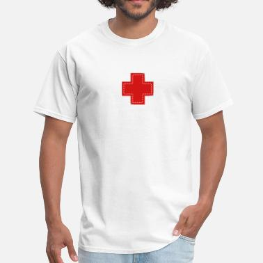 Cross cross patch - Men's T-Shirt