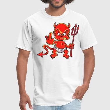 flippin devil tattoo t shirt - Men's T-Shirt
