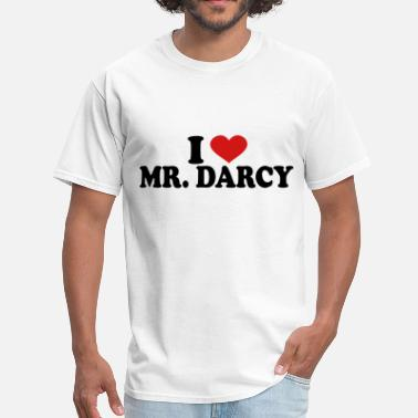 Darcy I Love Mr Darcy - Men's T-Shirt