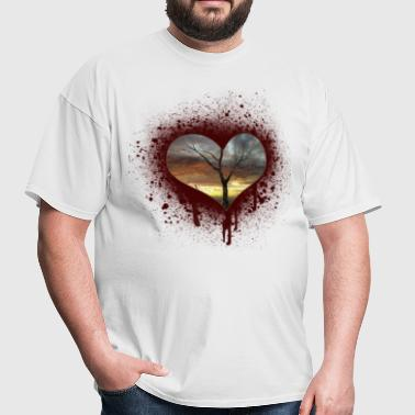 bleeding heart - Men's T-Shirt