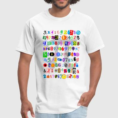The Many Digits of Pi - Men's T-Shirt