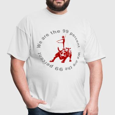 99 percent Bull - Men's T-Shirt