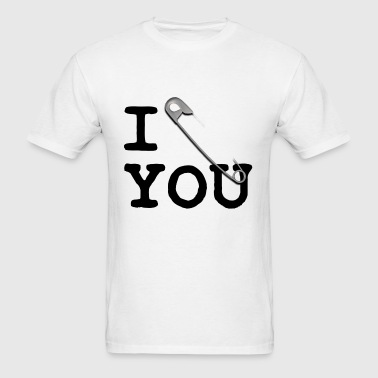I Pin U (black) - Men's T-Shirt