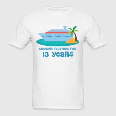 13th Anniversary Cruise - Men's T-Shirt