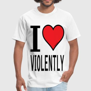sheen isms i love violently - Men's T-Shirt