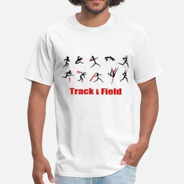 Field Athletics, Track and Field, Decathlon - Men's T-Shirt