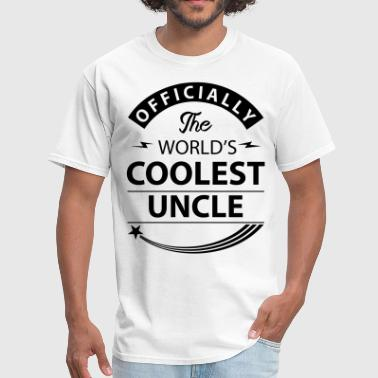 Worlds Coolest Uncle coolest_uncle - Men's T-Shirt