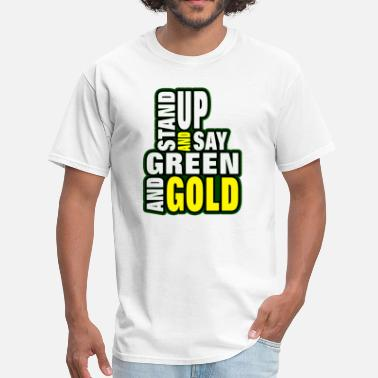 Green & Gold Green and Gold - Men's T-Shirt