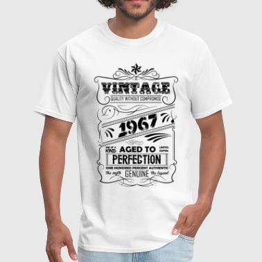 Since 1967...original Aged To Perfection Vintage Aged To Perfection 1967 - Men's T-Shirt