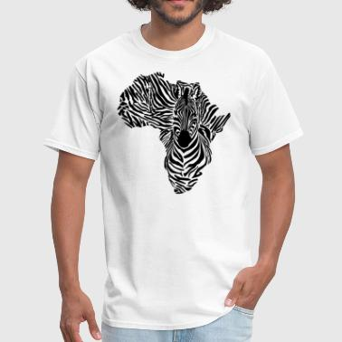 African Zebra - Men's T-Shirt