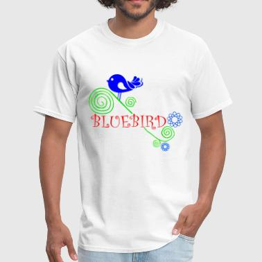Bluebird - Men's T-Shirt