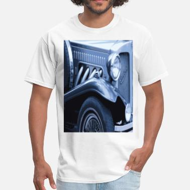 Art Pictures Cars VINTAGE BLUE CAR Pop Art - Men's T-Shirt