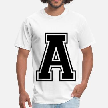 Letters Of The Alphabet Letter A - Men's T-Shirt