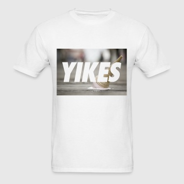 YIKES (made this for a friend who never bought it  - Men's T-Shirt