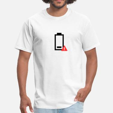 Low Battery Icon Low Battery Icon - Men's T-Shirt