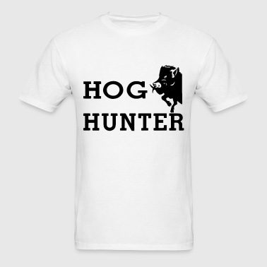 Hog Hunter wild boar hog hunting hunt gun - Men's T-Shirt