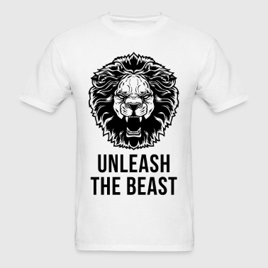 Unleash The Beast - Lion - Men's T-Shirt