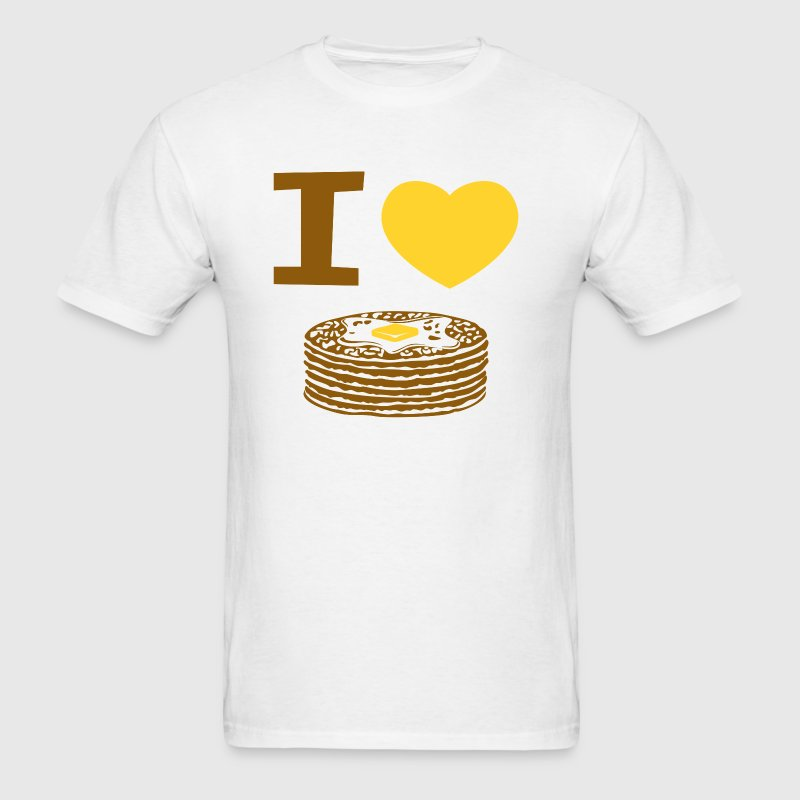 I Love Pancakes - Men's T-Shirt