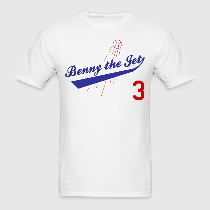 Benny The Jet Sandlot Jersey 3 - Men's T-Shirt