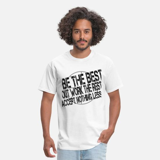 Basketball T-Shirts - BeTheBest4lite.png - Men's T-Shirt white