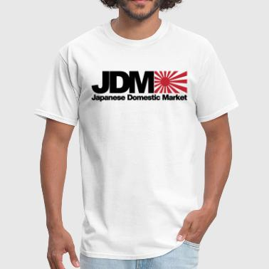 Japanese Domestic Market JDM Logo Men s White NE - Men's T-Shirt