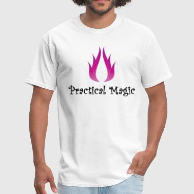 practical magic wiccan witchcraft pagan fire Shirt - Men's T-Shirt