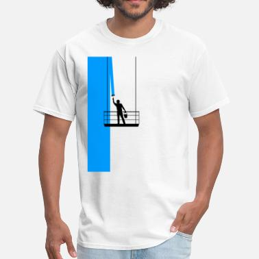 For Painter Painter on the facade - Men's T-Shirt