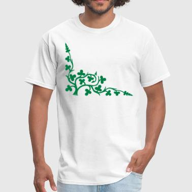 Ivy Vine Vine Clovers Thorns Leaves 1c  - Men's T-Shirt