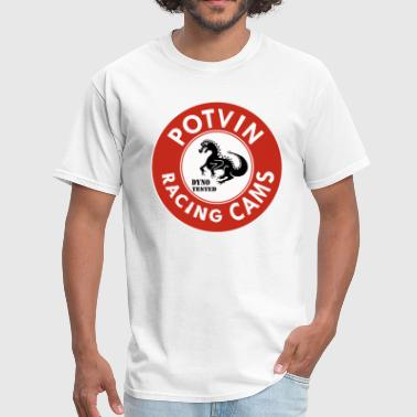 Potvin Racing Cams - Men's T-Shirt