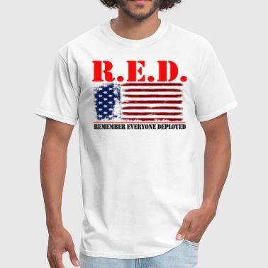 Us Army Apparel R.E.D US by GF APPAREL - Men's T-Shirt