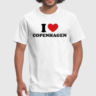 I Love Copenhagen - Men's T-Shirt