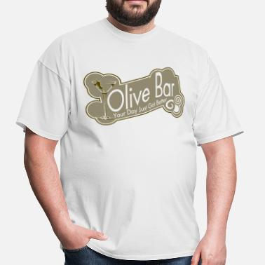 Vintage Bar Olive Bar - Men's T-Shirt