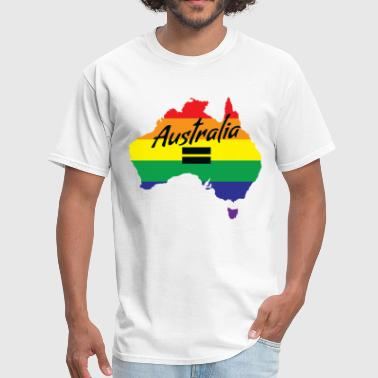 Vote Yes-australia Marriage Equality Vote Yes-Australia Marriage Equality - Men's T-Shirt