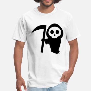 Grim Reaper Death grim reaper halloween - Men's T-Shirt