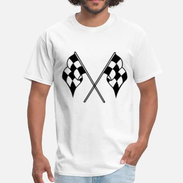Checkered Flag checkered flag - Men's T-Shirt