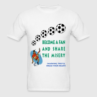 Soccer Fan - Men's T-Shirt