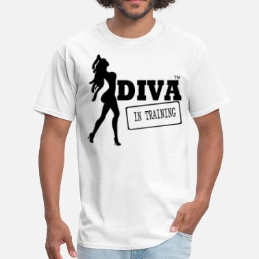Shoe Diva DIVA IN TRAINING - Men's T-Shirt