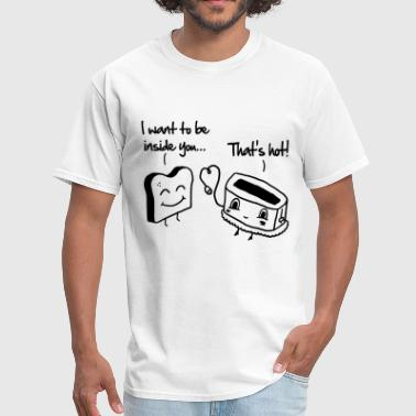 Toast & Toasty - Men's T-Shirt