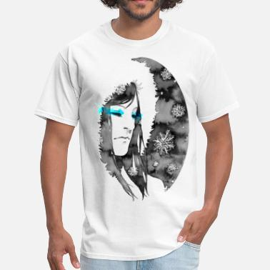 Snow-woman snow - Men's T-Shirt