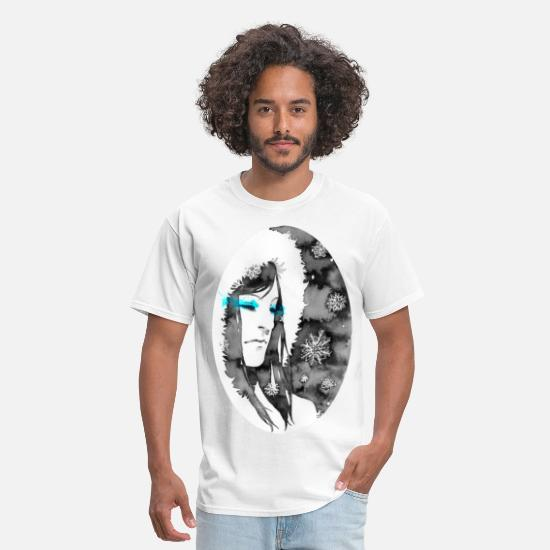 Art T-Shirts - snow - Men's T-Shirt white