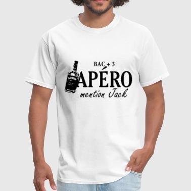 Apero bac 3 apero mention jack - Men's T-Shirt