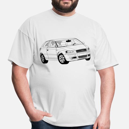 Audi A3 8P Men's T-Shirt | Spreadshirt