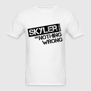 Breaking Bad: Skyler White did Nothing Wrong - Men's T-Shirt