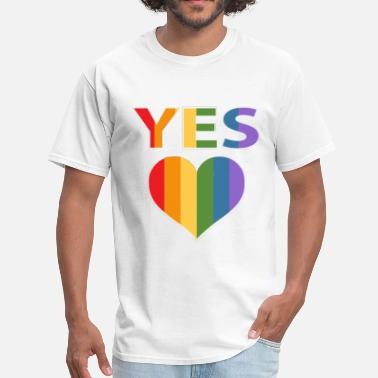 Yes Australia Yes to marriage equality Australia - Men's T-Shirt