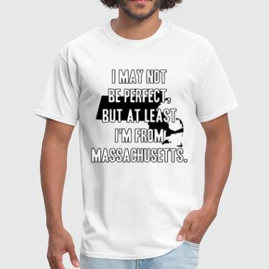 Police Blue Lives Matter I may not be perfect but at least I am from massac - Men's T-Shirt