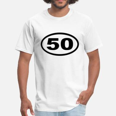 Ultramarathon ultramarathon 50 mile oval - Men's T-Shirt