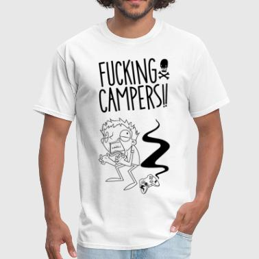 Fucking Grandfather Fucking Campers - Men's T-Shirt