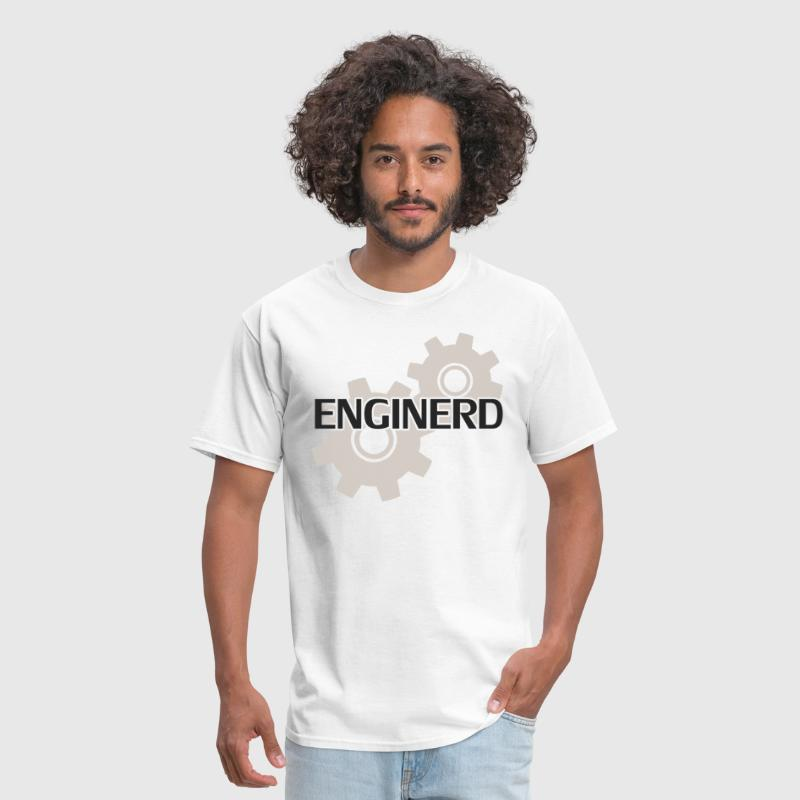 Enginerd Engineer Nerd - Men's T-Shirt