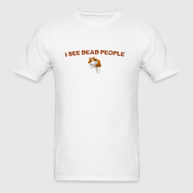 I see dead people. kitty - Men's T-Shirt