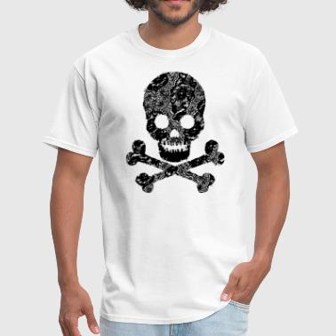 skull abstract - Men's T-Shirt